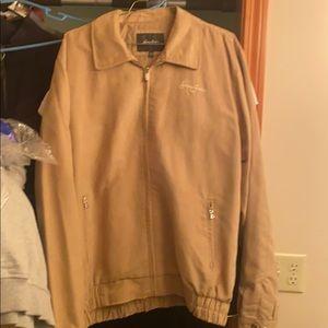 Sean John jacket tan color size XXL Vintage